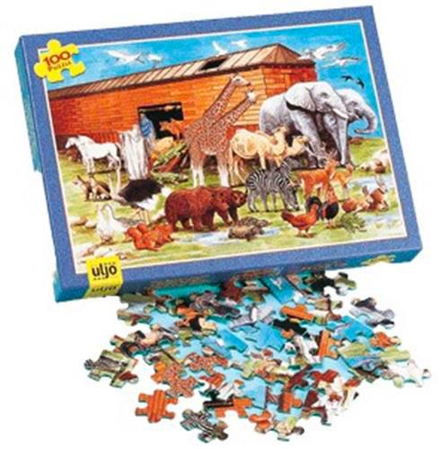 Puzzle Arche de Noé (100 pièces)